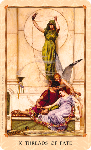 Tarot of Delphi -- Threads of Fate
