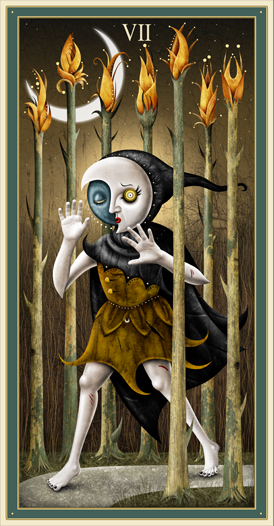 Seven of Wands - Deviant Moon