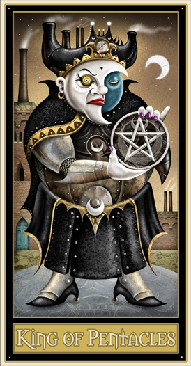 King of Pentacles - Deviant Moon