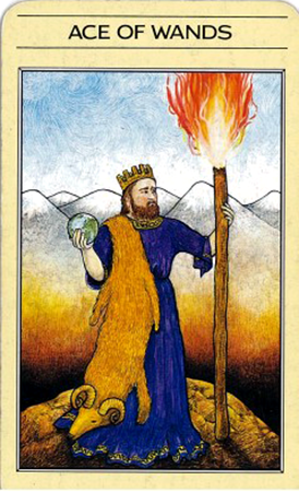 Ace of Wands - Mythic