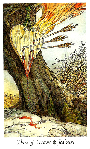 Three of Swords (Arrows)