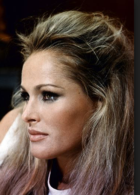Ursula Andress -- Venus in Pisces