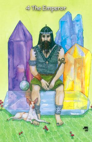 Hezicos Tarot -- Emperor