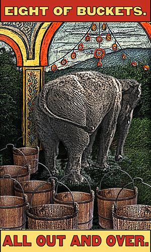 Tarot the Zirkus Magi -- 8 of Buckets