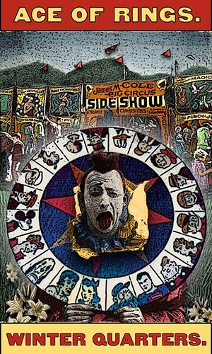 Tarot the Zirkus Magi -- Ace of Rings