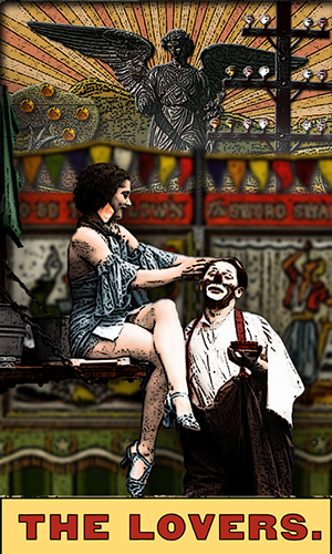 Tarot of the Zirkus Magi -- the Lovers