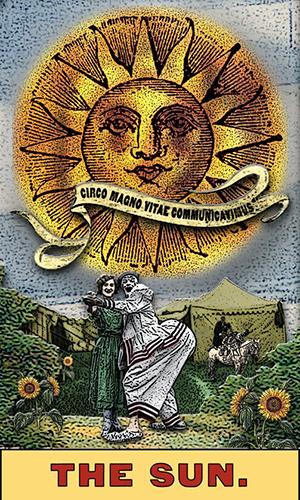 Tarot the Zirkus Magi -- the Sun