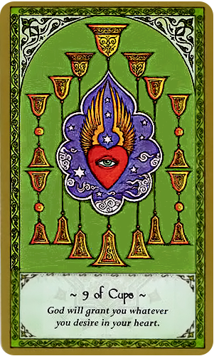 Free Daily Tarotscope -- Aug 6, 2014 -- Nine of Cups