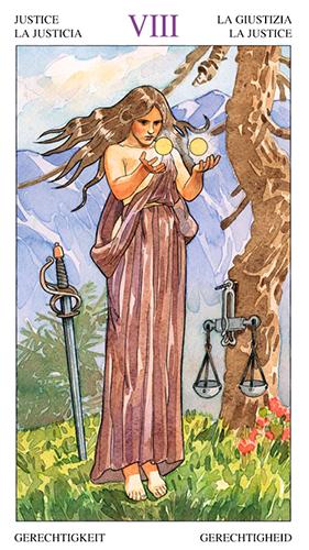Justice -- Sorcerers Tarot