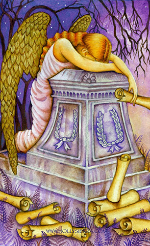 Chrysalis Tarot Nine of Swords