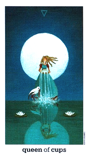 Sun and Moon Tarot - Queen of Cups