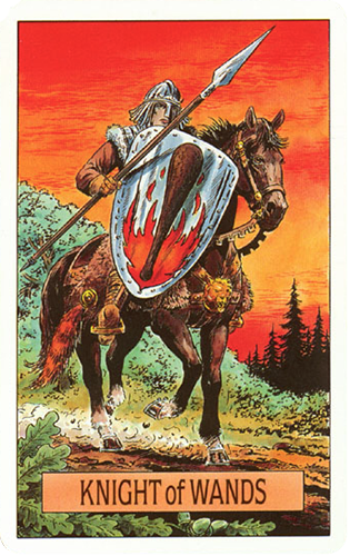 Knight of Wands