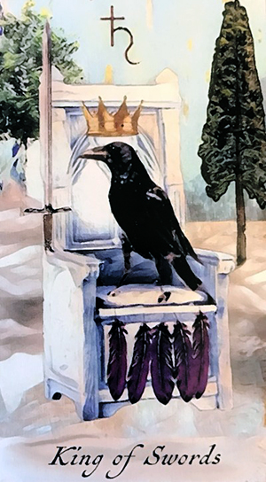 Crow Tarot King of Swords