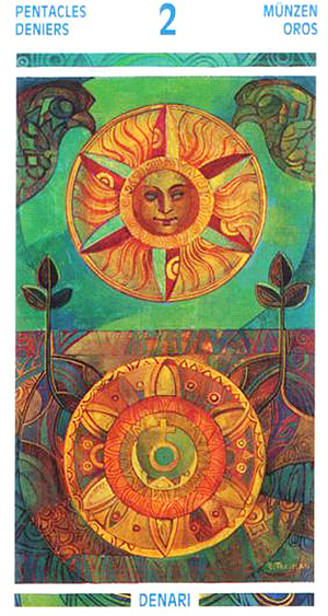 Two o Pentacles