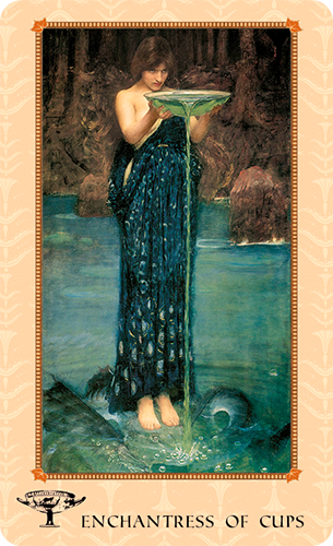 Tarot of Delphi -- the Enchantress of Cups