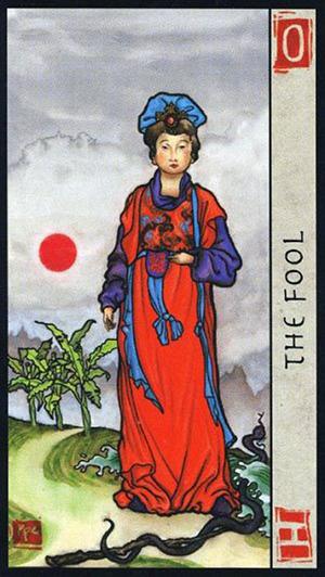 Feng Shui Tarot -- Fool