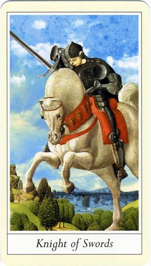 Free Daily Tarotscope -- Aug 27, 2015 -- Knight of Swords