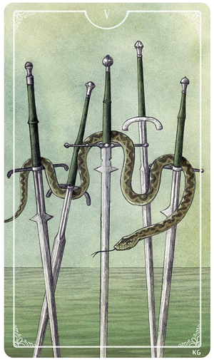 Ostara 5 of Swords