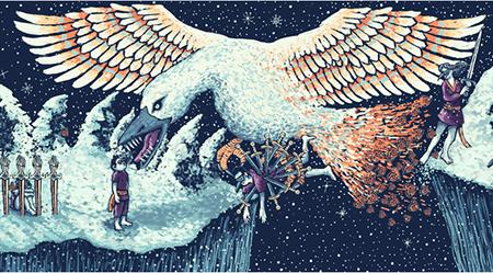 Prisma Visions Tarot - Nine of Swords