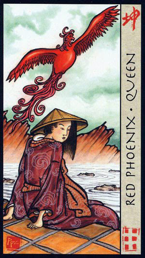 Red Phoenix Queen