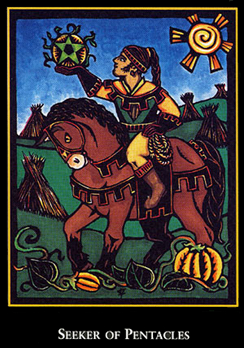Seeker of Pentacles