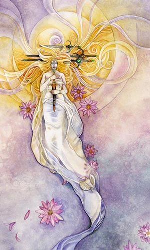 Shadowscapes Four of Swords   -- January 2020 Tarot Scopes