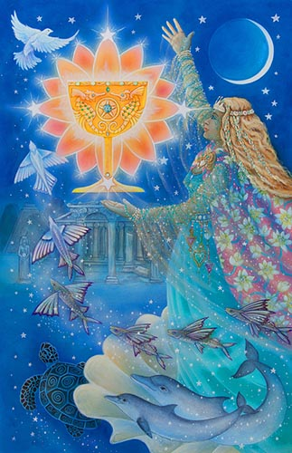 Star Tarot Princess of Cups
